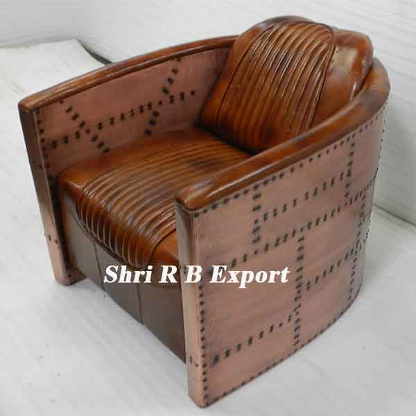 Super Aviator Copper Sofa Chair Shri R B Export Machost Co Dining Chair Design Ideas Machostcouk